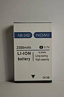 Аккумулятор Nomi i242 X-Treme (АКБ, Батарея) NB-242 , оригинал