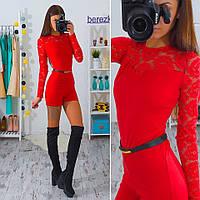Женский модный комбинезон с шортами (4 цвета)