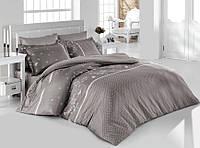 Комплект постельного белья Prima casa Azara Gri 3D Бамбук 200*220