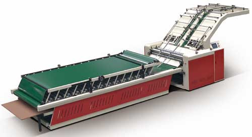 Полуавтоматическая кашировальная машина DAI'S TM-1100B