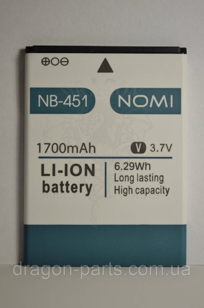 Аккумулятор Nomi i451 Twist (АКБ, Батарея) NB-451 , оригинал