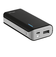 Зарядное устройство со встроенным аккумулятором Trust Primo Power Bank 4400 мАч Black