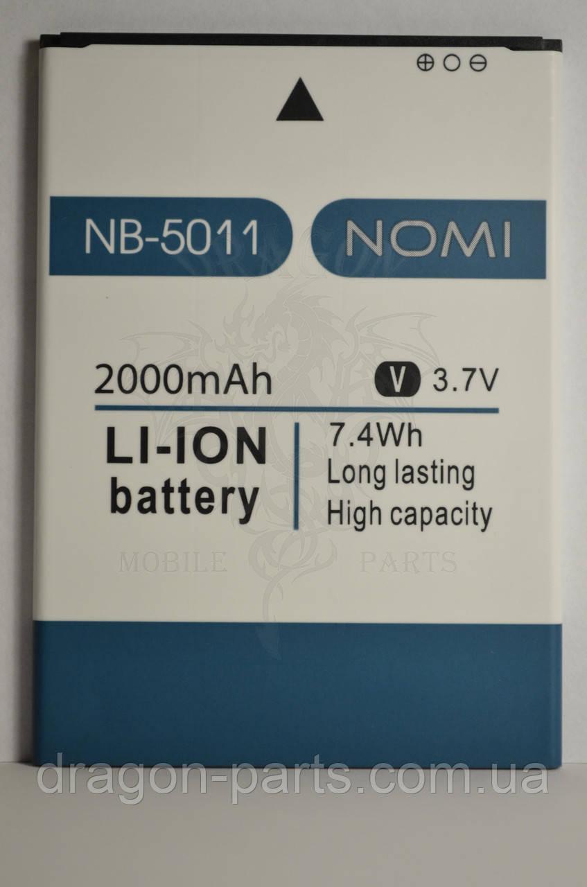 Аккумулятор Nomi i5011 EVO M1 (АКБ, Батарея) NB-5011 , оригинал