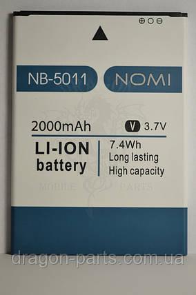 Аккумулятор Nomi i5011 EVO M1 (АКБ, Батарея) NB-5011 , оригинал, фото 2