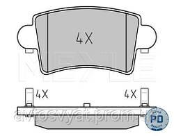 Колодки тормозные (задние) Renault Master 98-