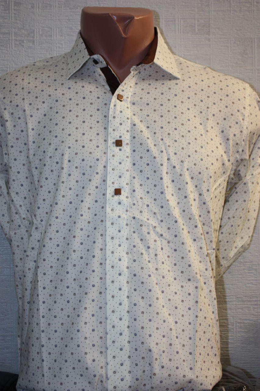 Рубашка с длинным рукавом S Besni