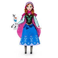 Классическая кукла Принцесса Дисней Анна Холодное сердце с Олафом, 2016