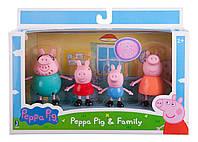 Набор фигурок семья свинки Пеппы