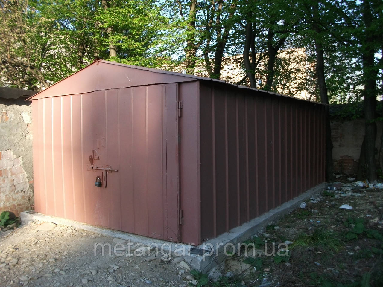 Купить бу металлический гараж металлические стеллажи для гаража в тюмени