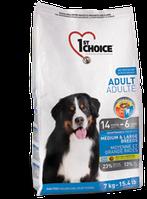 Для пожилых собак от 6 лет и выше Средние и крупные породы 14кг