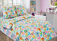 Подростковый комплект постельного белья Праздник, поплин