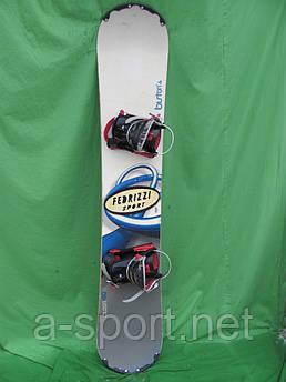 Сноуборд Burton cruizer 160 см + кріплення Burton
