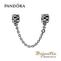Pandora защитная цепочка КАПЛИ ДОЖДЯ 790315 серебро 925 Пандора оригинал