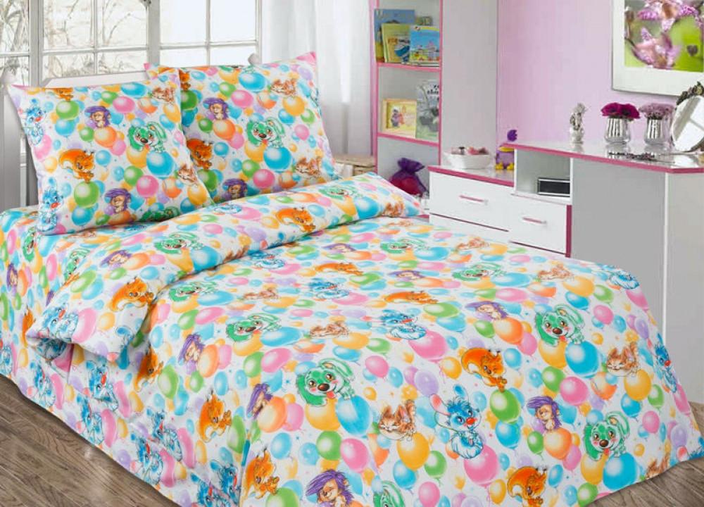Постельное белье в детскую кроватку Праздник (поплин)