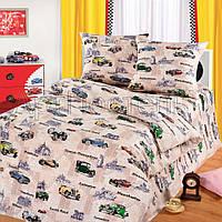 Постельное белье в кроватку Авто Круиз  (бязь ГОСТ)