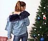 Куртка джинсовая на меху., фото 5