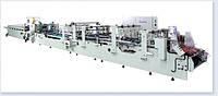Автоматическая фальцевально-склеивающая линия для производства картонных коробок с закрывающимся дном GDHH-800