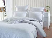 Комплект постельного белья Prima casa Tereza Beyaz Бамбук Жаккард 200*220