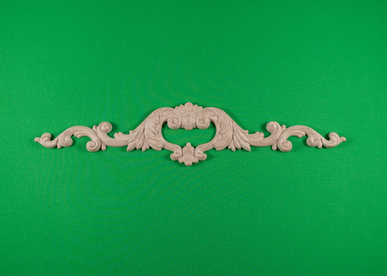 Код ДГ2.Деревянный резной декор для мебели. Декор горизонтальный
