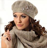 """Стильный и теплый женский шарф - платок """"Betina"""" Польша"""