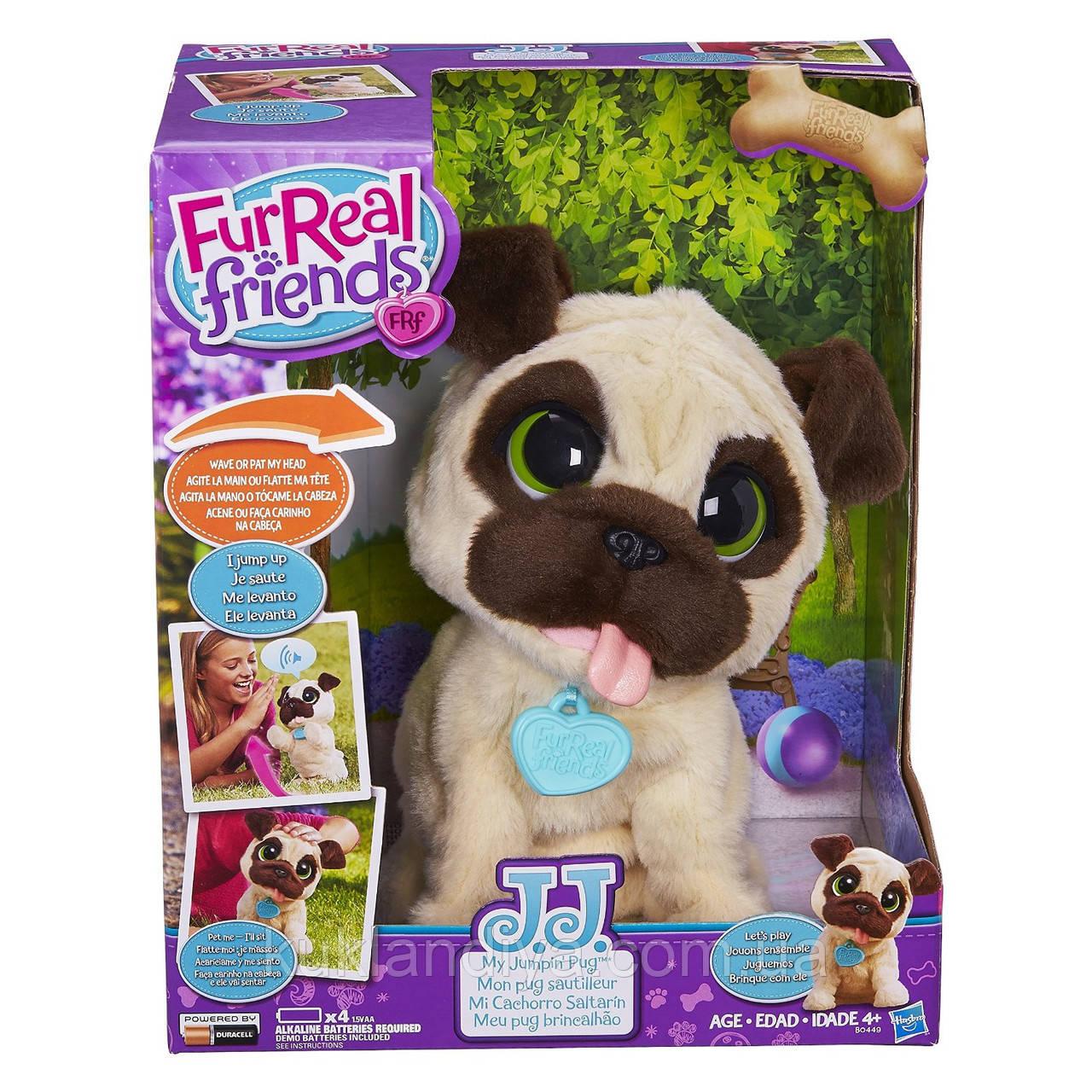 Интерактивный игривый щенок FurReal JJ, My Jumpin Pug