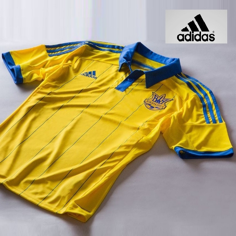 Футболка игровая сборной Украины Adidas FFU Home Jersey