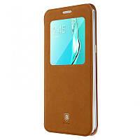Чехол-книжка Baseus для Samsung Galaxy S6 Edge Plus SM-G928 Brown