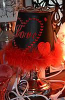 Светильник сенсорный Love + арома