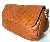 Рыжие сумки из натуральной кожи, фото 1
