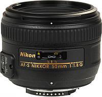 Объектив Nikon AF-S 50mm F1.8G Гарантия от призводителя ( на складе )