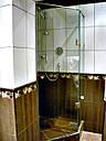 HDL-302 ПЕТЛЯ СТЕКЛО-СТЕКЛО 135 ГРАДУСОВ для душевой кабины (нержавейка), фото 9