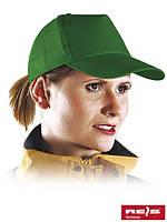 Бейсболка зелёная (кепка)