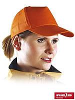 Бейсболка оранжевая (кепка)