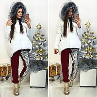 Куртка зима,  плащовка, стёганная 200-м синтепоном, 4 расцветки фото реал вш №897