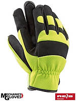 Защитные перчатки кожаные MECHANIC