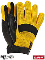 Защитные перчатки кожаные RYELOT