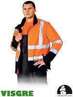 Куртка защитная со светоотражающими полосами LH-ASCONA