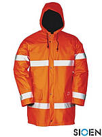 Куртка зимняя для дорожника со светоотражающими элементами SI-PARKER