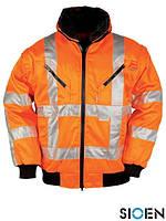 Куртка зимняя для дорожника со светоотражающими элементами SI-PILOTJA