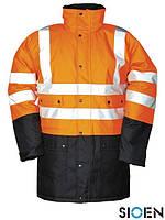 Куртка зимняя для дорожника со светоотражающими элементами SI-STORMFL