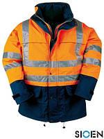Куртка-дождевик со светоотражающими элементами SI-BRIGHT