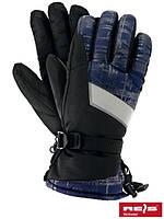 Лыжные перчатки флисовые SKIFLECTIVE