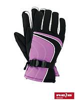 Лыжные перчатки флисовые SKILA