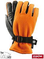 Лыжные перчатки флисовые SNOWING
