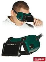 Очки защитные для сварщика GOG-RECTANGLE ZB