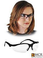 Очки защитные рабочие с диоптриями MCR-KLONDIKEM T10