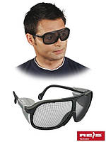 Очки рабочие для столяра сетчатые оптом GOG-MESH B