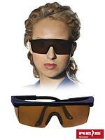 Очки рабочие защитные с затемнением GOG-FRAMEB-DARK BRB