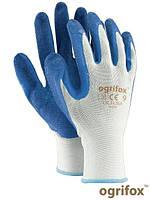 Рабочие перчатки защитные OX-LATEKS, фото 1