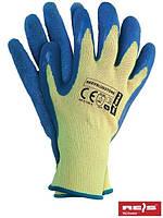 Рабочие перчатки кевларовые EV BLUE STON